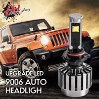 High power auto light 2800 lumen 9006 LED headlight 6000K-7000K CE ROHS off road motorcycle vehicle headlight
