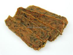 Wholesale bulk pet snack rabbit and vegetable fillets