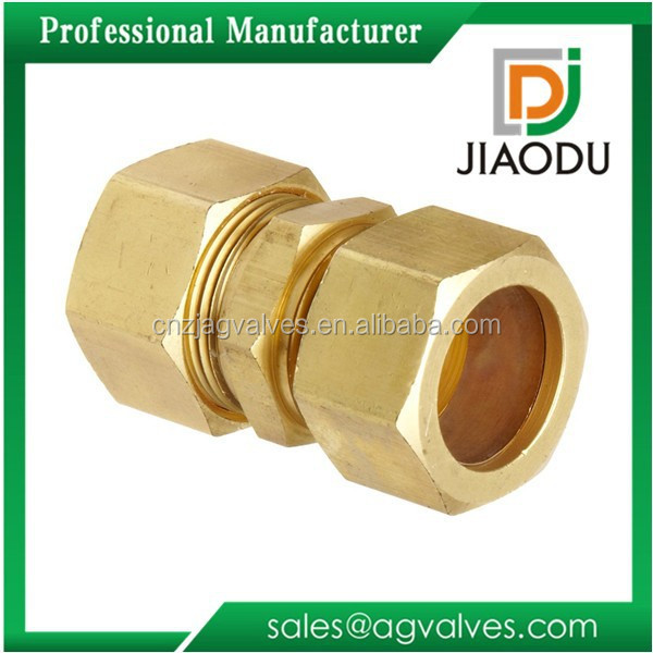 Brass compression fitting for copper pipe buy