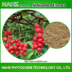 Factory Direct Supply 100% Natural Schisandra Chinensis Extract, Schisandra Extract, Schisandrin