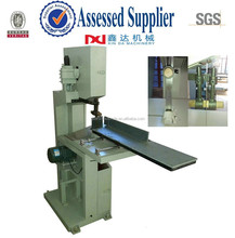 Band saw kitchen towel paper and toilet tissue roll cutter machine