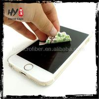 new microfiber products customized lens cleaner,mobile phone sticky screen cleaner,laptop screen sticker