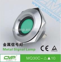cmp 30mm de metal equipos de luces indicadoras 6 colores led lámparas piloto