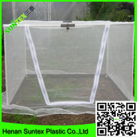china factory supply insect catching net white anti insect net greenhouse insect net