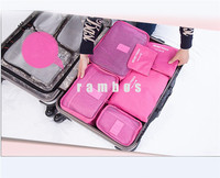 6pcs Travel Storage Bag Organizer for Cloth Shoes Underwear Travel Clothing Tower Organizor Bags