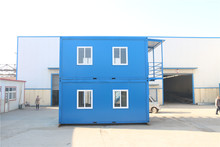 Collapsible container home complete