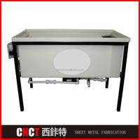Customized Sheet Metal Fabrication Colorful Water Transfer Printing Tank