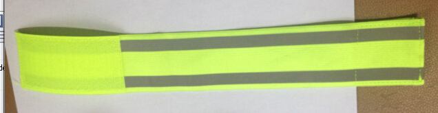 reflective armband with 2 strip