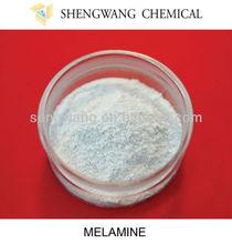 La marca de melamina cristalino 99.8% en polvo grado de la tecnología c3h3( nh2) 3