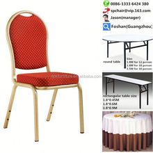 discount iron steel aluminium banquet chair price