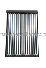 U pipe Evacuated tube solar collector for hot water and air heating solar keymark certificated from Guangdong China