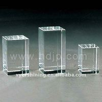 Promotional 3d laser engraving blank crystal products