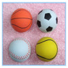 neon color solid foam rubber ball baseball
