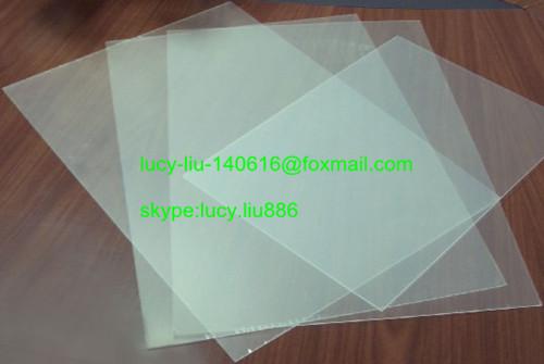 Feuilles de pvc rigide 100x41x51cm poly thil ne feuilles de plastique p - Feuille de plexiglass leroy merlin ...
