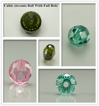 selling well export beads ball shape pretty cubic zirconia stones