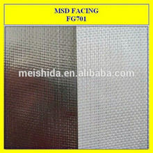 isolamento del tetto in fibra di vetro rinforzata di alluminio