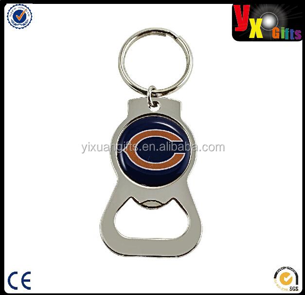 nfl bottle opener keychain buy bottle opener key ring fancy key rings beer bottle keychain. Black Bedroom Furniture Sets. Home Design Ideas