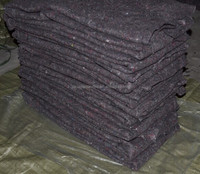 Easy light recycled cotton blanket for Camping carpet