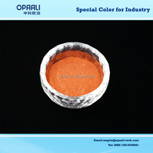 high quality charming red series 5-25um china orange color industry grade pearl pigment for artificial leather