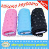 Flexible Durable Full Sized Silicon Rubber Keyboard Covers