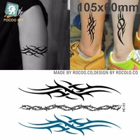 HC93/New products 2015 novelty temporary totem tattoos stickers for arm leg