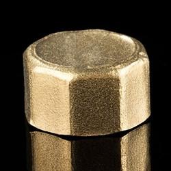 Manufactorier Casting Female Thread Brass Pipe Nut