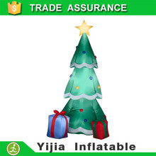 New customized 150cm Inflatable Christmas Xmas Tree Santa Present Party Decoration