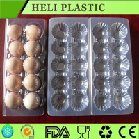 Plastic carton holder egg storage tray
