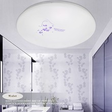 220V 12W 18W Contemporary Ccc Rohs Wedge Lamp LED Ceiling Lights Ceiling Supply Led Lighting Purchase Floral Pattern
