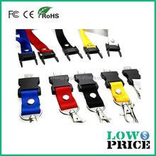 2015 Promotional lanyard usb flash drive 1tb/usb 3.0 flash drive for promotional gift