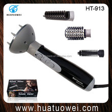 2015 NEW Big Electric Automatic Rotating Hair Brush Magic Curler Hair