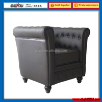 Y-5997 Luxury Classic Turkish Style Furniture Single Sofa Chairs For Living Room And Bedroom