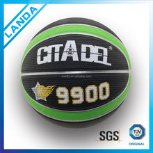 custom promotion china made 3# rubber basketball all size in bulk