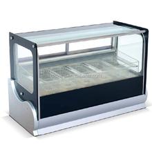 Mini counter top display freezer for popsicle/ice cream/gelato