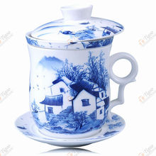 TG-405M232-W-1 cup tea 1206 with high quality acrylic paint pen