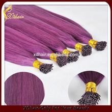 Factory wholesale remy human hair pre-bonding hair extension itip/utip/vtip/flat tip/nano tip hair products
