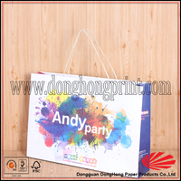 Luxury smart shopping paper bag with 3d corel draw format shopping paper bags design
