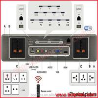 Hotel Media Access Platform/ Media Connectivity Panel/ Hotel Power Data Control Plate