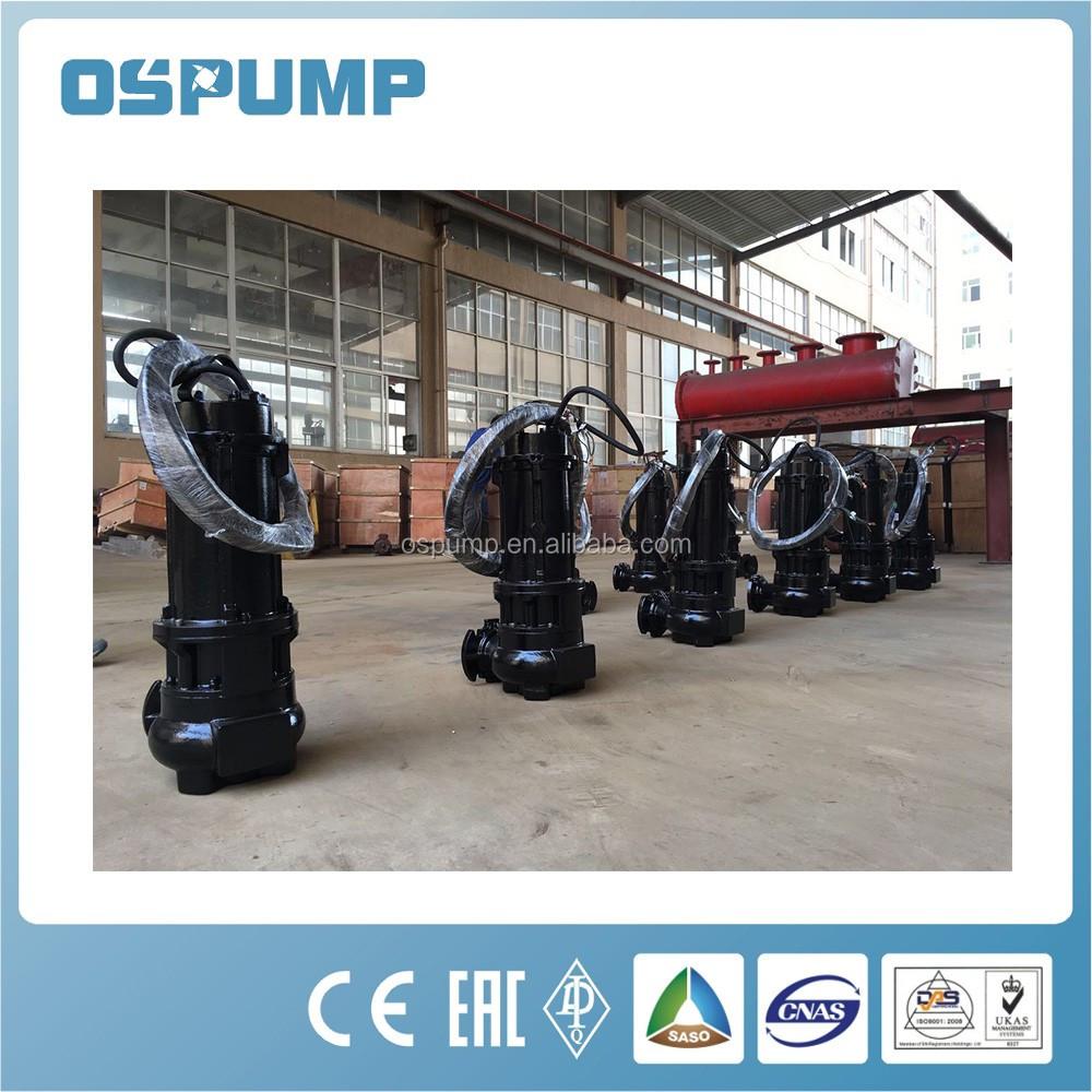3 дюймов 80 мм свободный проход электрический погружной насос для сточных вод