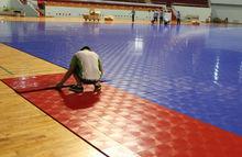 Portable plastic outdoor basketball court sports flooring/baskerball floor Outdoor/PP interlocking basketball flooring
