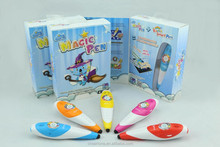 magic pen for kids learning for kids from 3-9 years old, English magic color changing pen kids learning