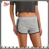 Custom wholesale athletic tight training gym shorts for women/running sweat shorts