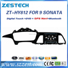 ZESTECH car gps dvd players for Hyundai sonata radio for Hyundai sonata navigation with RDS 3G wifi TV bluetooth gps SWC