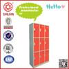 SJ-076 9 door used vintage metal safety locker