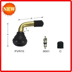 Tubeless valves for motocyles and scooters stem PVR70