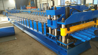 Glazed Roofing Sheet Tile Making Roll Forming Machine