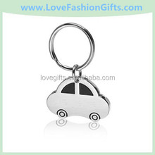 Personalized Metal Keychains & Custom Engraved Car Shaped Key Chains
