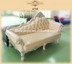 danxueya French Provincial european empire chaise lounge chair antique chaise