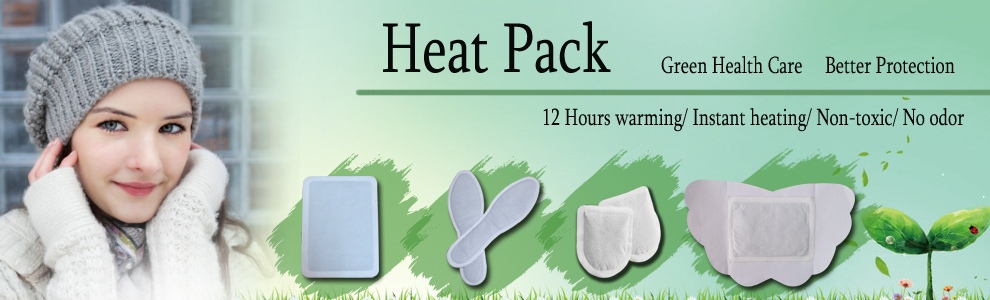 Non réutilisables épaule cou pad thermique de la magie corps chaud
