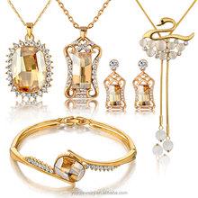 Charming diva wholesale gold jewellery set